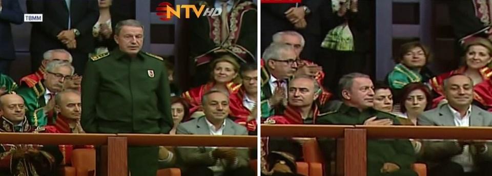 Genelkurmay Başkanı Orgeneral Hulusi Akar'ın da katıldığı olağanüstü toplantıyı, Anayasa Mahkemesi, Yargıtay ve Danıştay başkanları da izledi.