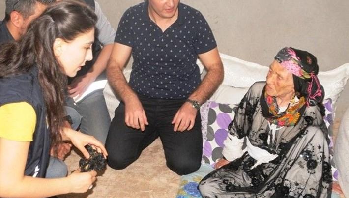 90 yaşındaki kadına darp ve gasp