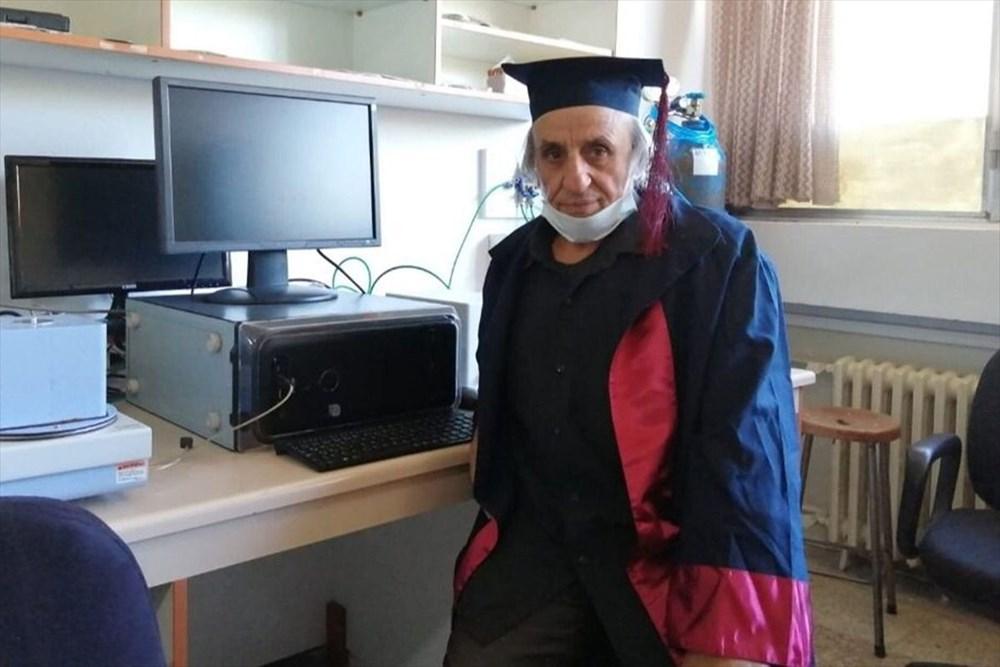 33 yıl önce kazandığı üniversiteden mezun oldu - 6