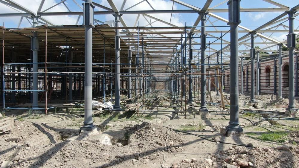 Müze olacak Feshane'nin restorasyonunun yüzde 60'ı tamamlandı - 7