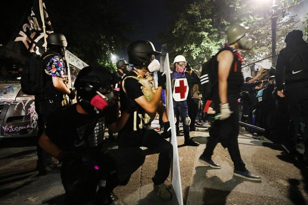 """Trump'tan şiddet eylemlerine karışan protestoculara """"en az 10 yıl hapis"""" tehditi - 18"""