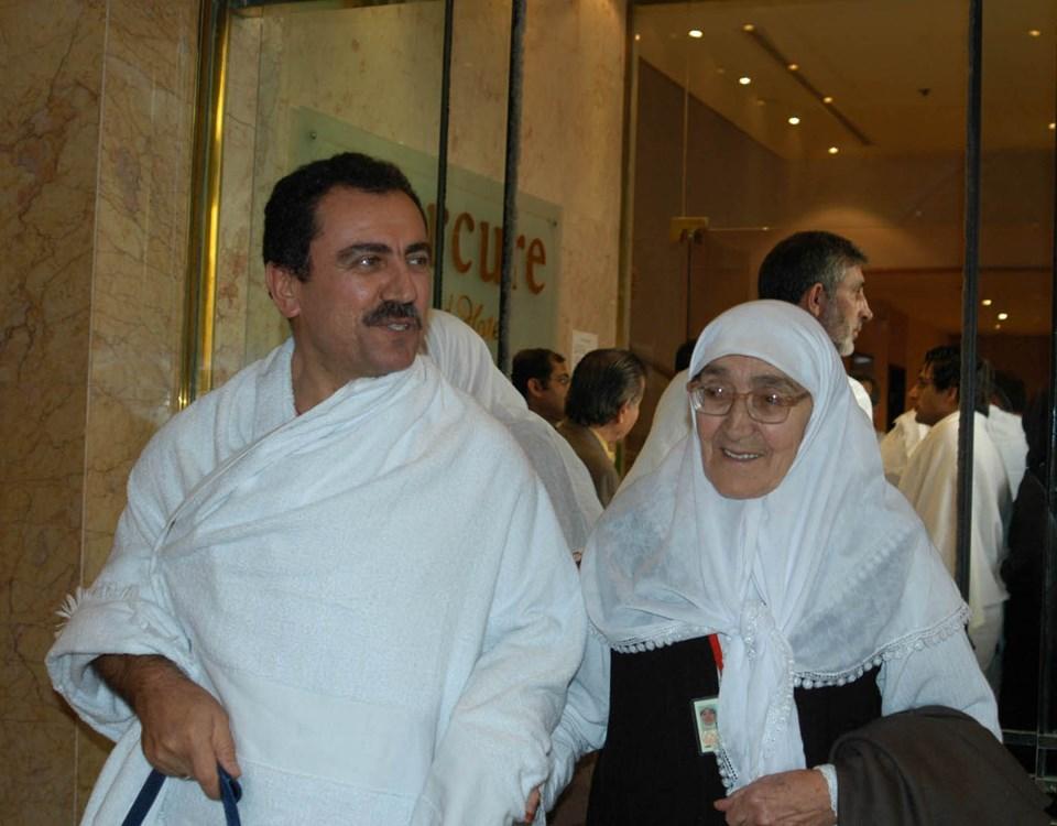 BBP'nin kurucu Genel Başkanı Muhsin Yazıcıoğlu, annesi Fidan Yazıcıoğlu ile Hac ibadetini yapmak için 2006 yılında Mekke'ye gitmişti.