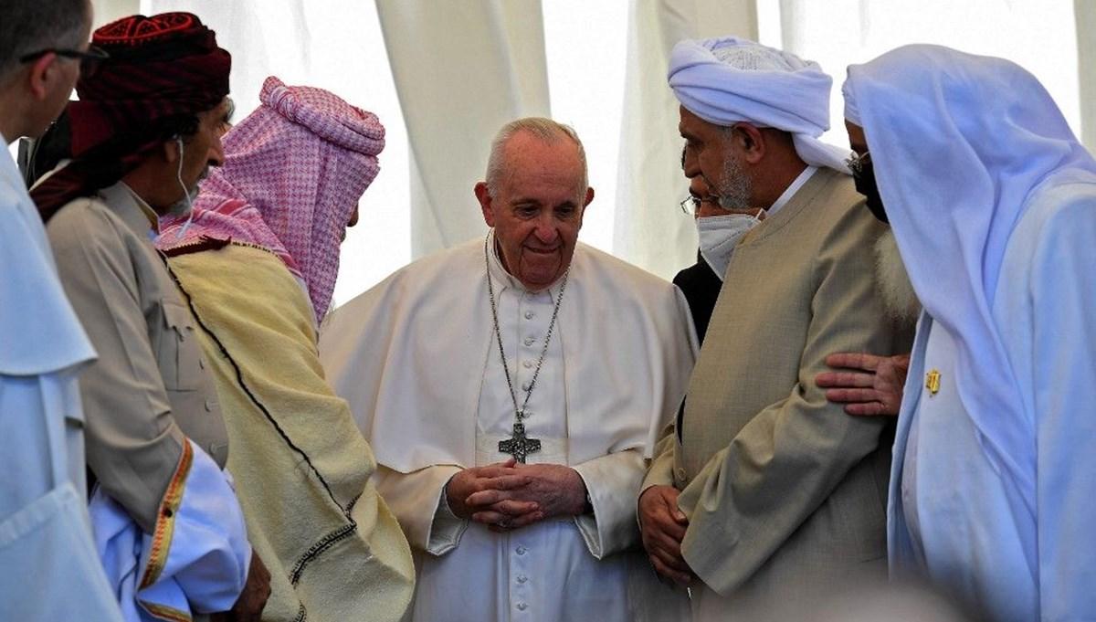 """Irak'ta Papa'nın ziyareti nedeniyle 6 Mart """"ulusal hoşgörü"""" günü olarak ilan edildi"""