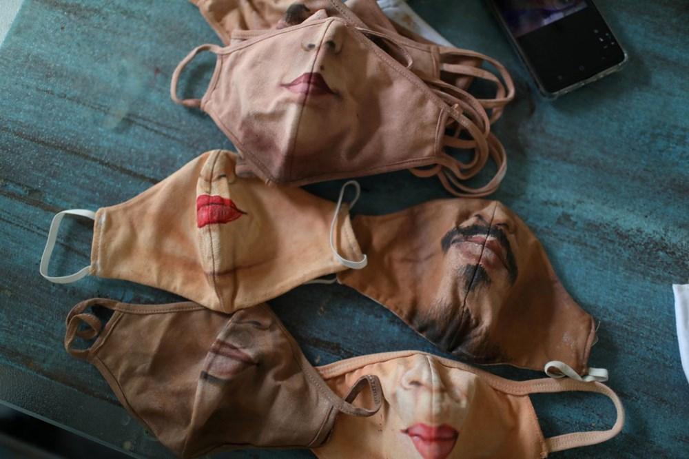 Brezilyalı sanatçıdan insanların yüzlerini gerçekçi bir şekilde tamamlayan maskeler - 3