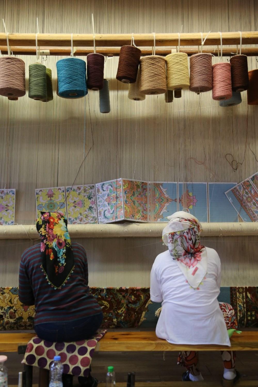 178 yıllık Osmanlı yadigarı fabrikada, Topkapı Sarayı'nın has oda halısı dokunuyor - 4