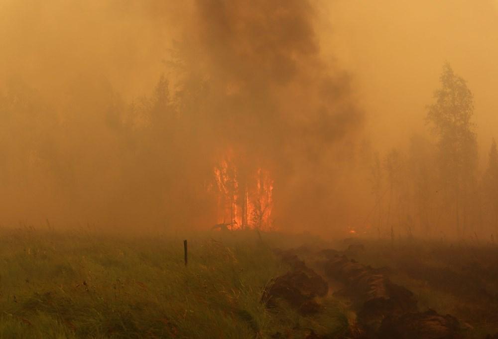 NASA duyurdu: Sibirya'daki yangınların dumanları tarihte ilk kez Kuzey Kutbu'na ulaştı - 6
