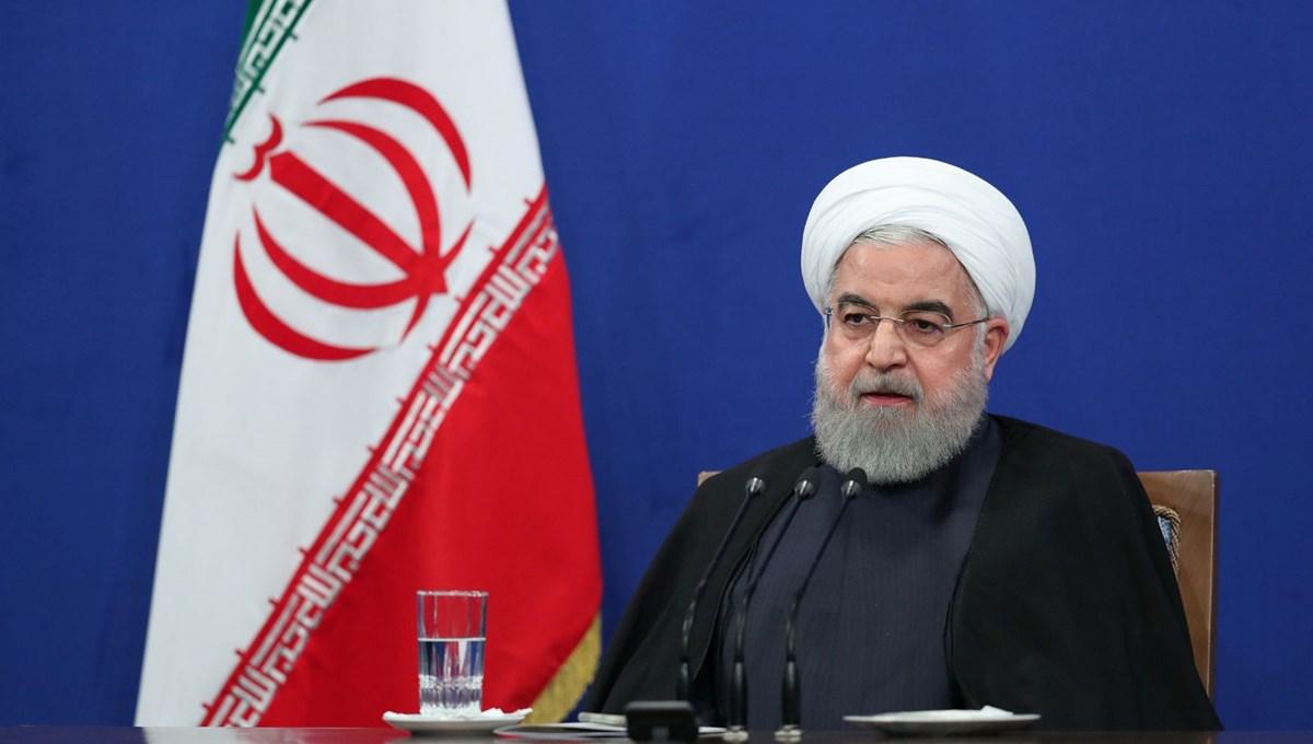 Ruhani: ABD yaptırımları halkın sırtına ağır yük bindirdi