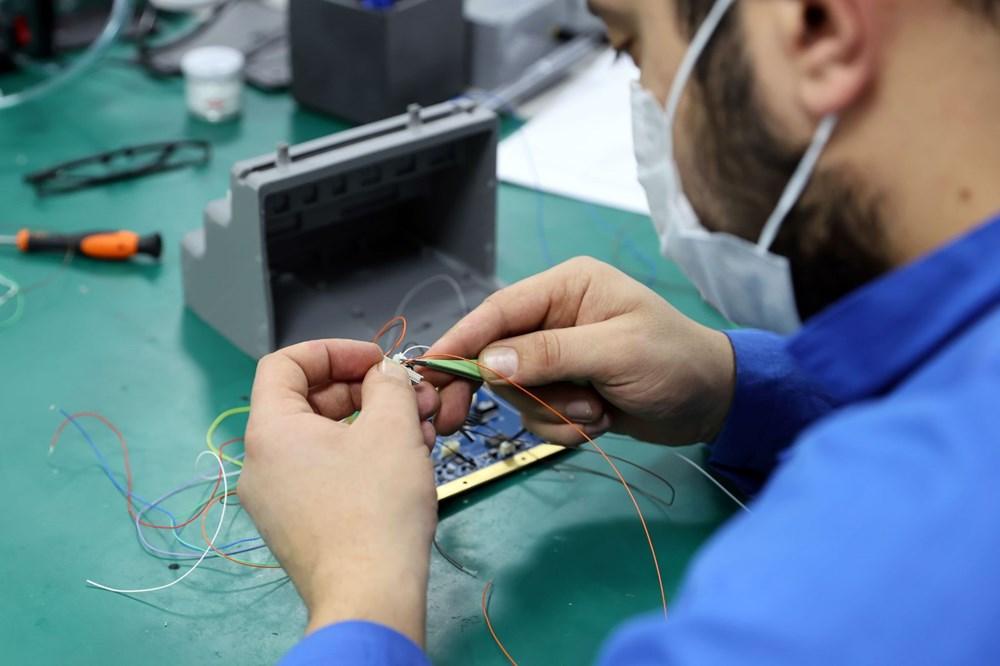 Türkiye'nin yeni İHA fabrikası üretime başladı - 9