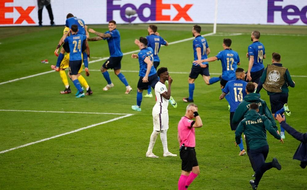 EURO 2020'de şampiyon İtalya - 10