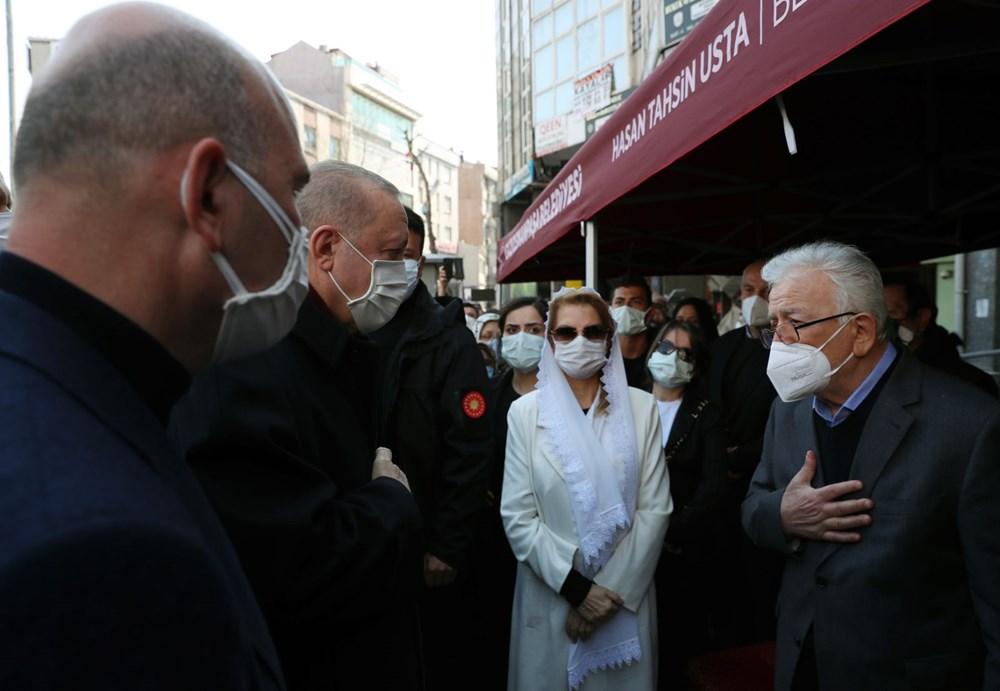 Soylu'nun annesi için tören düzenlendi (Cumhurbaşkanı Erdoğan da katıldı) - 9