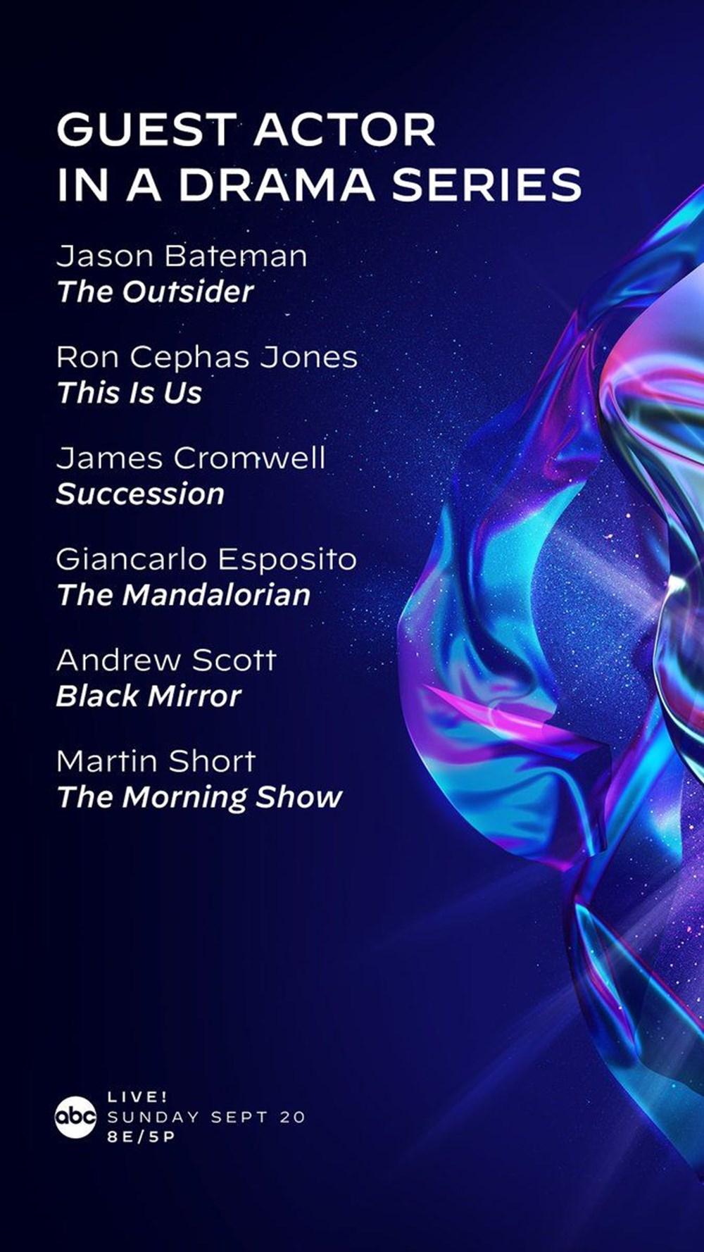 72. Emmy Ödülleri 2020 adayları belli oldu - 15