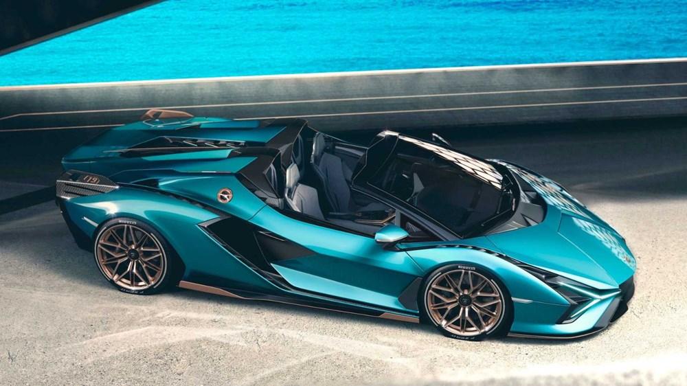 Lamborghini Sion Roadster tanıtıldı (Sadece 19 adet üretilecek) - 4