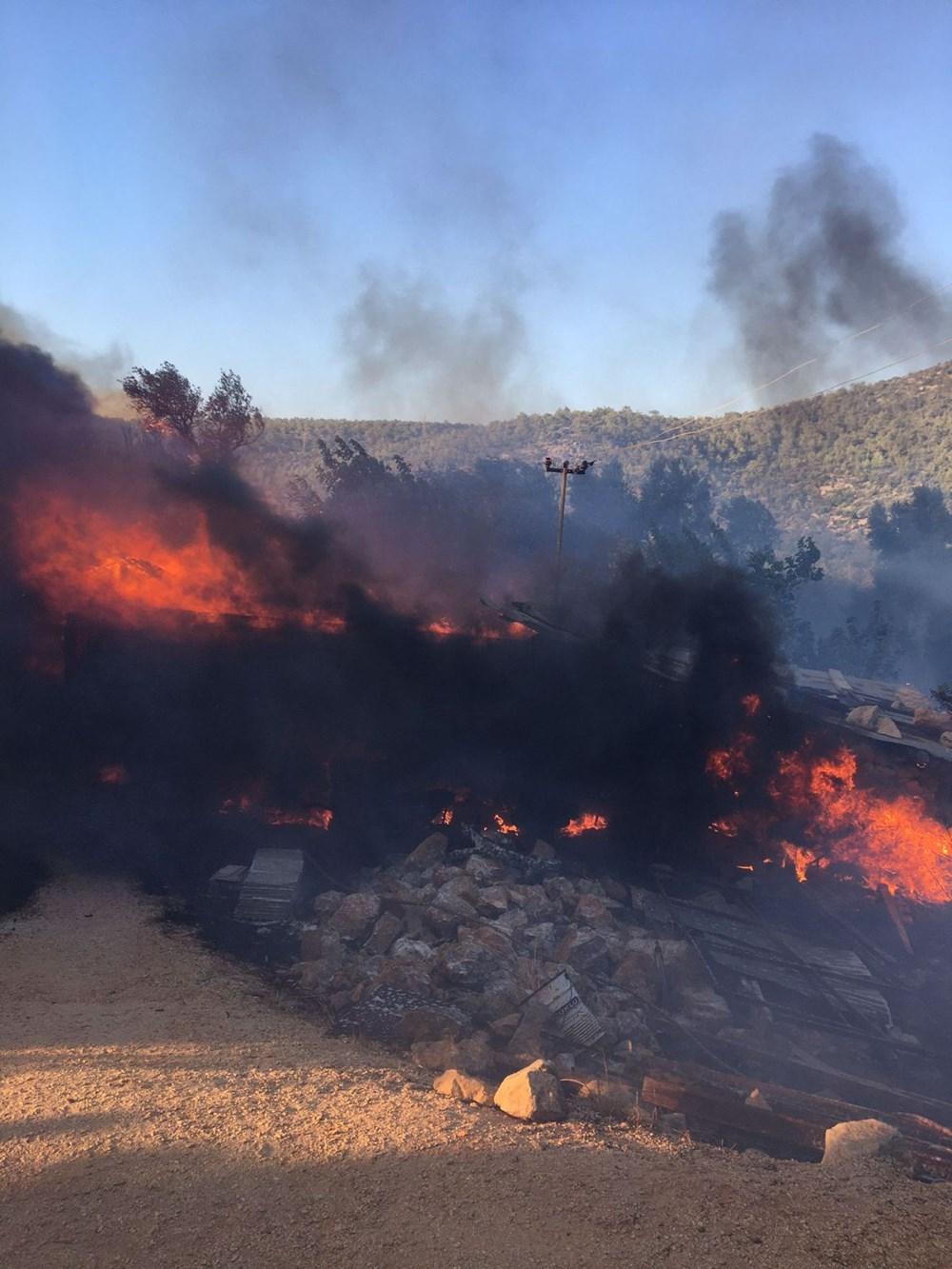 Antalya, Adana, Mersin, Muğla, Osmaniye ve Kayseri'de orman yangınları - 14
