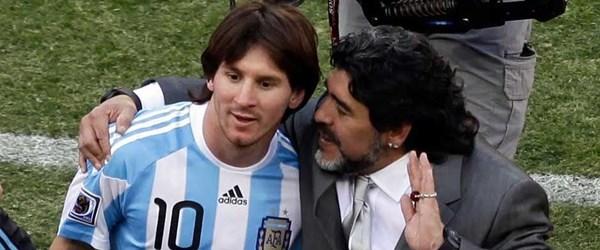 """Maradona: """"Messi kimseye bir şey ispatlamak zorunda değil"""""""