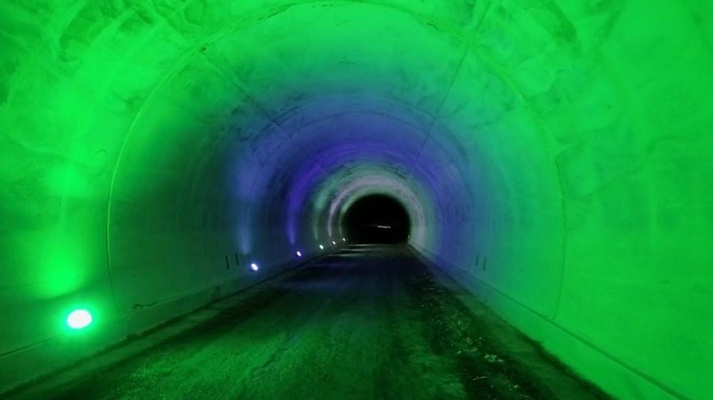 Yusufeli'nin yeni yerleşim yerine 40 tünelle ulaşılacak - 4