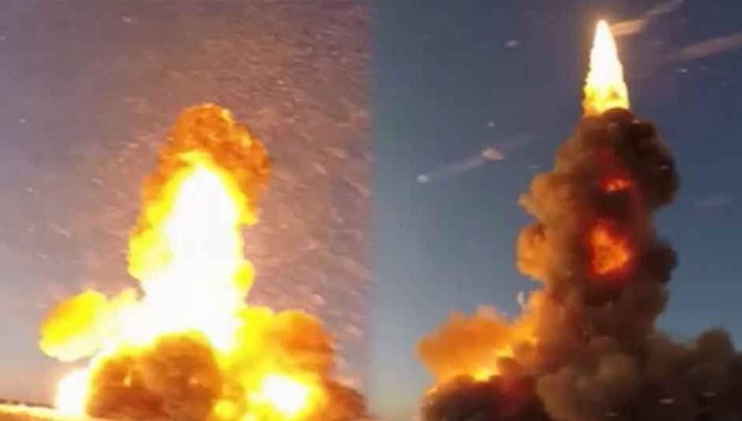 Rusya yeni füzesini test etti (Saniyede 4 kilometre hıza ulaştı)