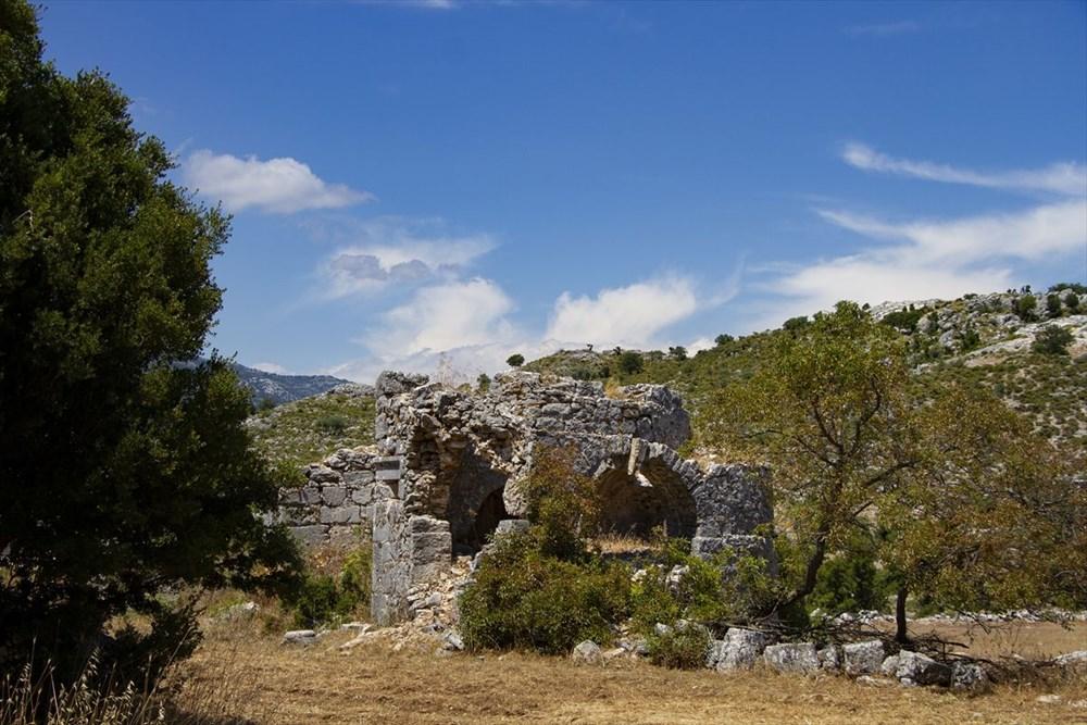2 bin yıllık Sidyma Antik Kenti içinde yerleşik hayat - 24