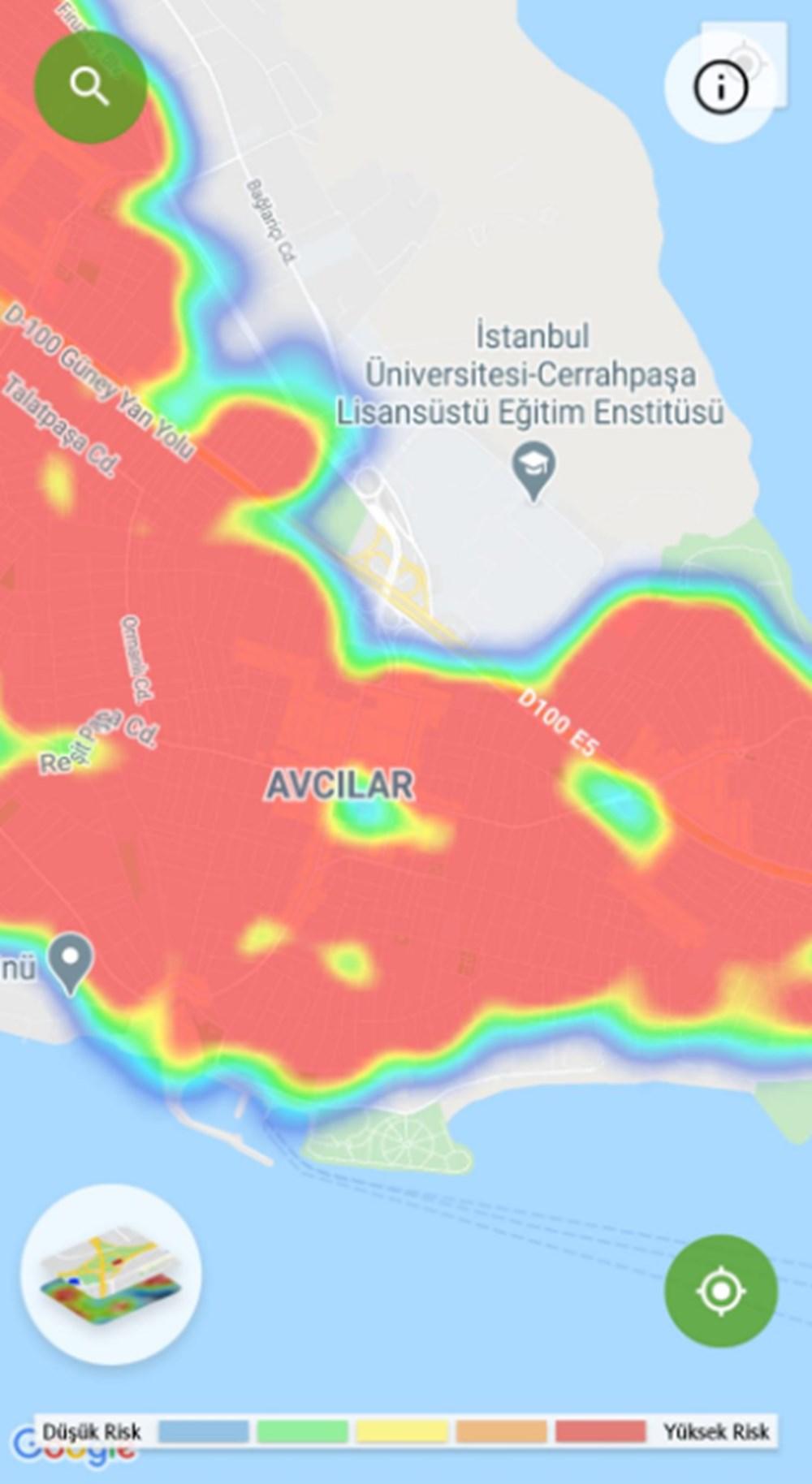 Corona haritası kızarıyor (İstanbul'un en güvenli ilçeleri) - 44