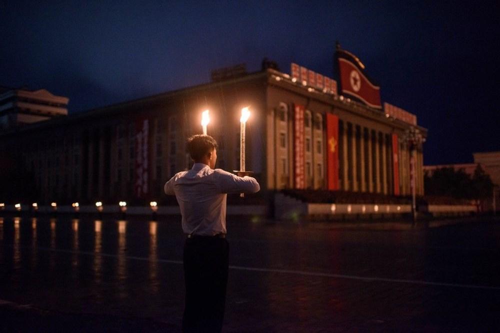 Kuzey Kore tarihi geçit törenine hazırlanıyor - 12