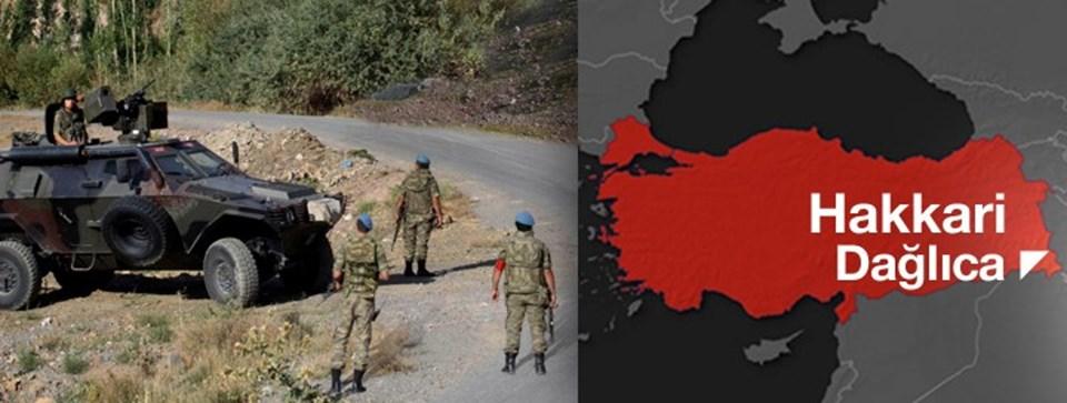 Dağlıca, Türkiye'nin güneydoğusunda Irak sınırının yanıbaşında