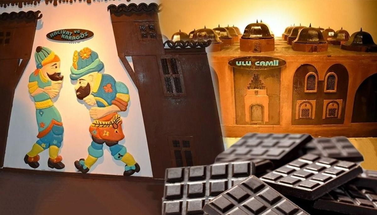 Bursa'nın en tatlı müzesi: 8 ton çikolata kullanıldı (Bursa Çikolata Müzesi)