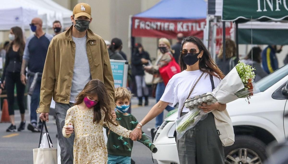 Mila Kunis ve Ashton Kutcher'dan itiraf: Çocuklar iyice kirleninceye kadar bekliyoruz