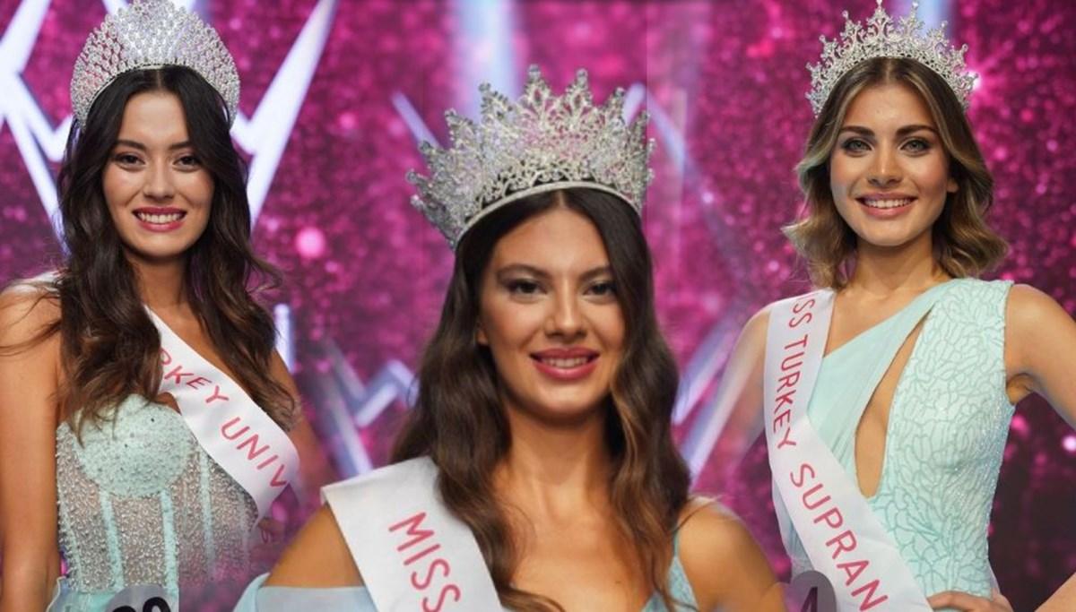 Miss Turkey 2021 birincisi belli oldu (Dilara Korkmaz, Cemrenaz Turhan, Şira Sahilli ilk üçte)