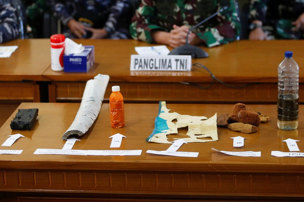 Missing submarine wreck fragments found in Indonesia - 5