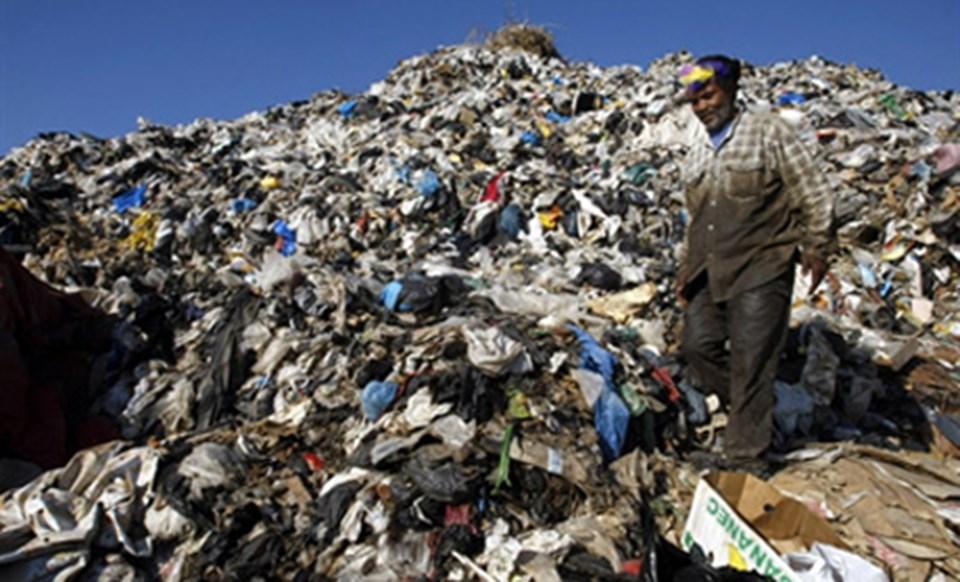 Sayda'daki çöp dağları