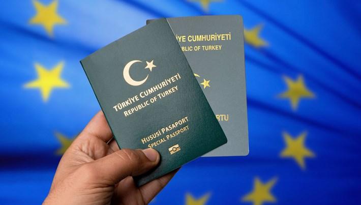 Yeşil pasaport sahiplerine Avrupa sınırlaması