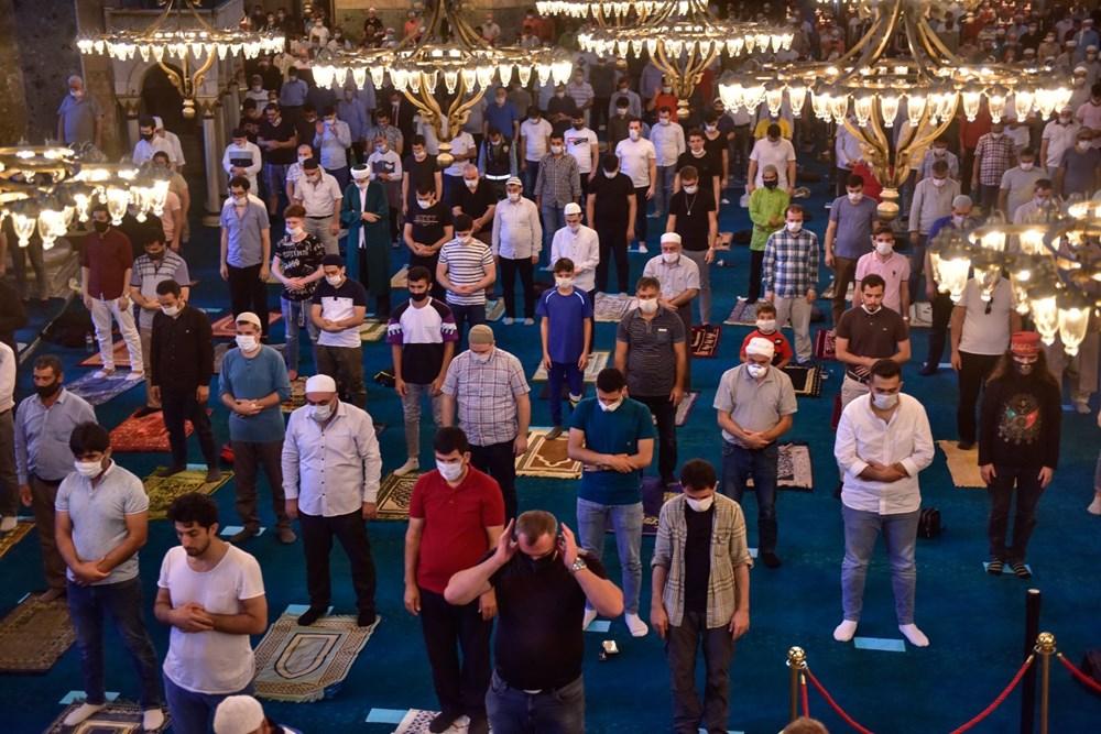 Ayasofya-i Kebir Cami-i Şerifi'nde 86 yıl sonra ilk bayram namazı - 32