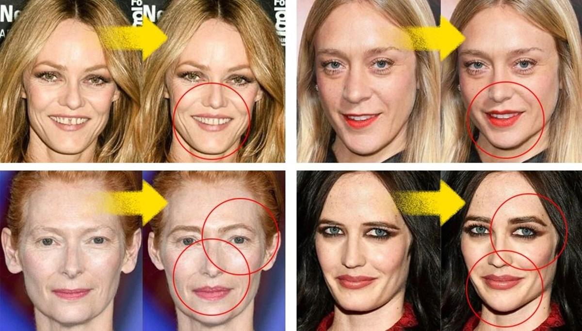 Sıra dışı görünümlü ünlü oyuncular popüler güzellik işlemlerini uygulasaydı nasıl görünürdü?