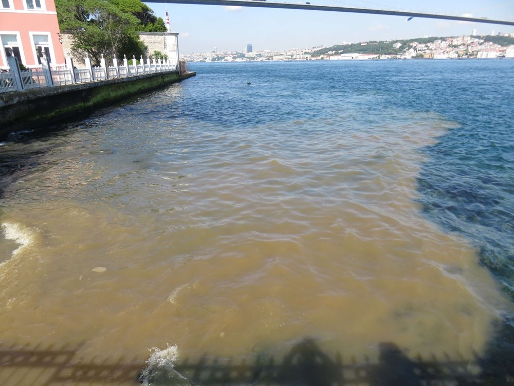 İstanbul Boğazı kahverengi oldu - 7