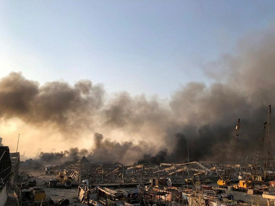 Beyrut'taki patlamanın ardından iki hafta OHAL ilan edildi.