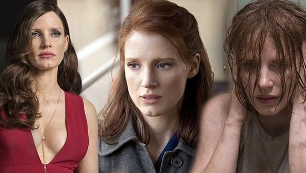 43. yaşına özel dünden bugüne Jessica Chastain filmleri
