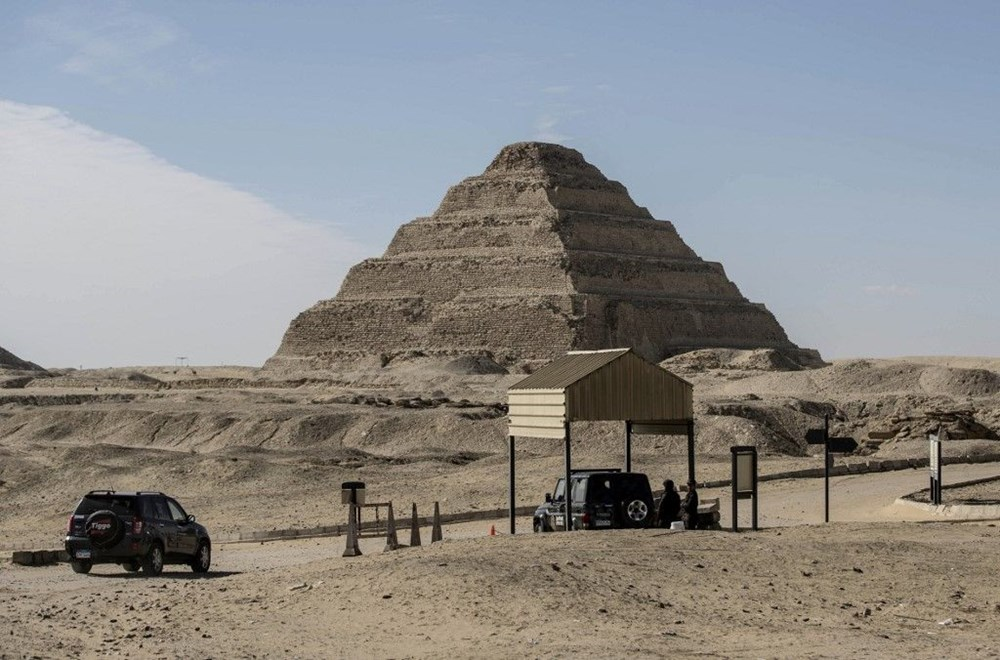 Mısır'ın Saqqara nekropolünde 3 bin 500 yıllık keşif: Kraliçe Naert'in cenaze tapınağı bulundu - 3