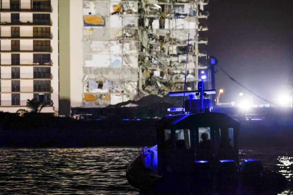 The rest of the collapsed building in Miami was demolished - 14