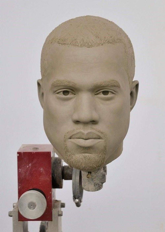 Madame Tussauds Müzesi'nde Kanye West heykeli hazırlığı - 2