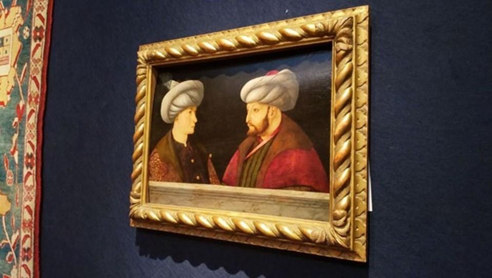 Fatih Sultan Mehmet'in portresine 500 bin ila 740 bin dolar değer biçiliyor