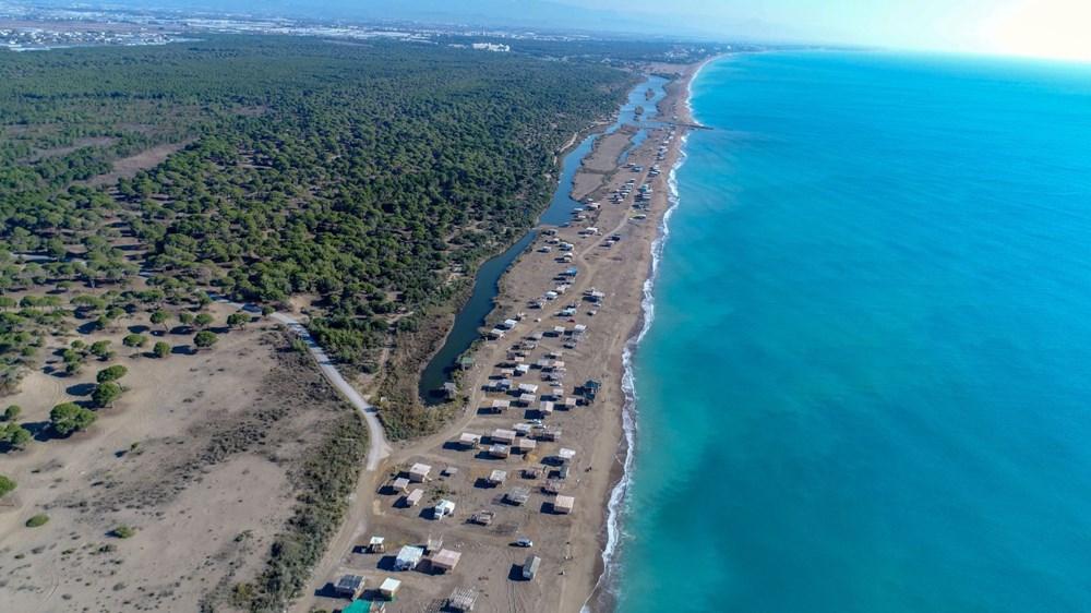 Lüks tatilin bedavaya sunulduğu 'Çardak Beach' çöplük oldu - 1