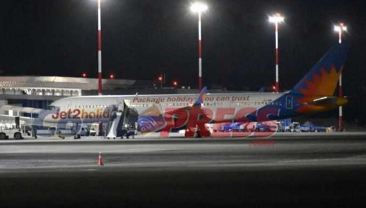 İstanbul'dan Mancherster'a kalkan yolcu uçağında Türk yolcu paniği: Uçak Yunanistan'a iniş yaptı