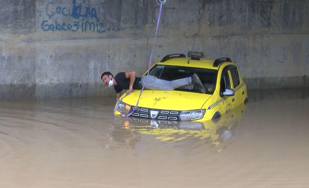 İstanbul'da sağanak yağış - 5