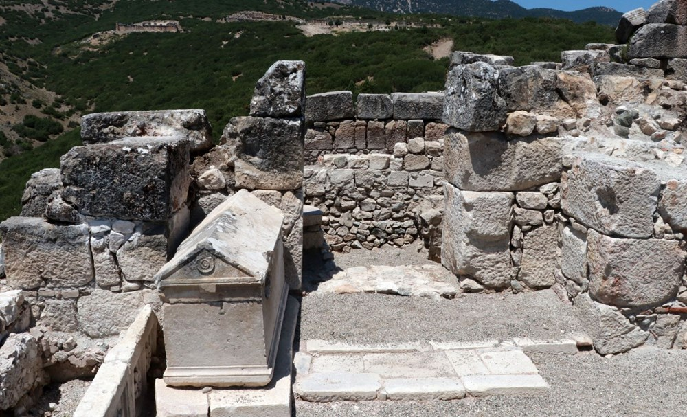 Kibyra'da ilk defa bazilikal planlı kilise bulundu - 4