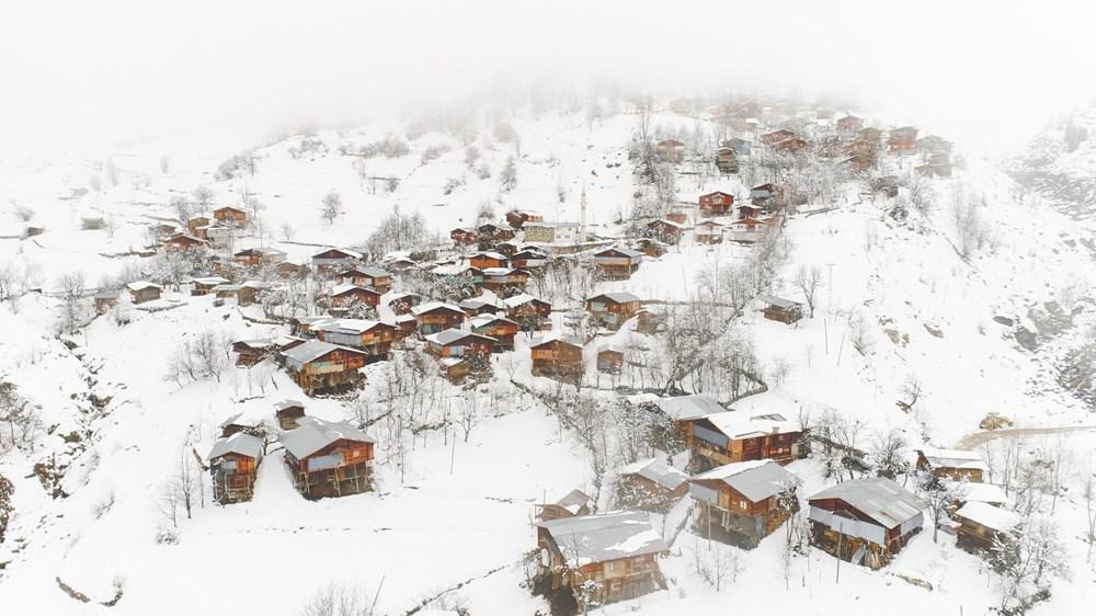 Artvin'deki 2 bin rakımlı Maden Köyü'nde kışı böyle geçiriyorlar - 19