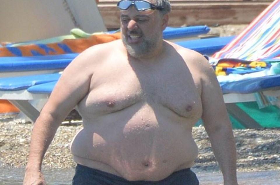 Hamdi Alkan daha önce aldığı kilolar ile gündeme gelmişti.