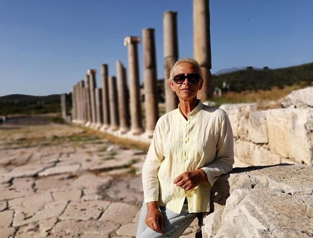 Tarihi Patara Deniz Feneri orijinal taşlarla yeniden ayağa kaldırılıyor - 5