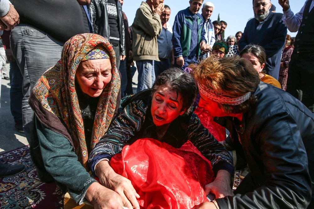 Hain saldırının küçük kurbanları: Cenazede gözyaşları sel oldu - 8