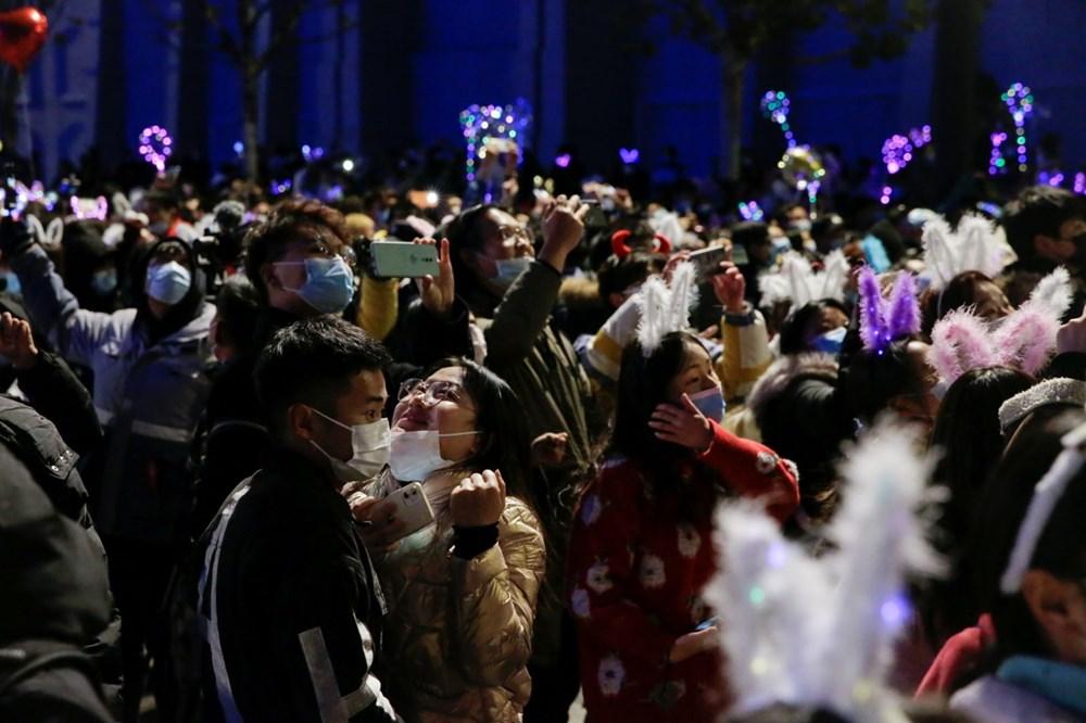 Wuhan'da yeni yıl kutlamaları - 5
