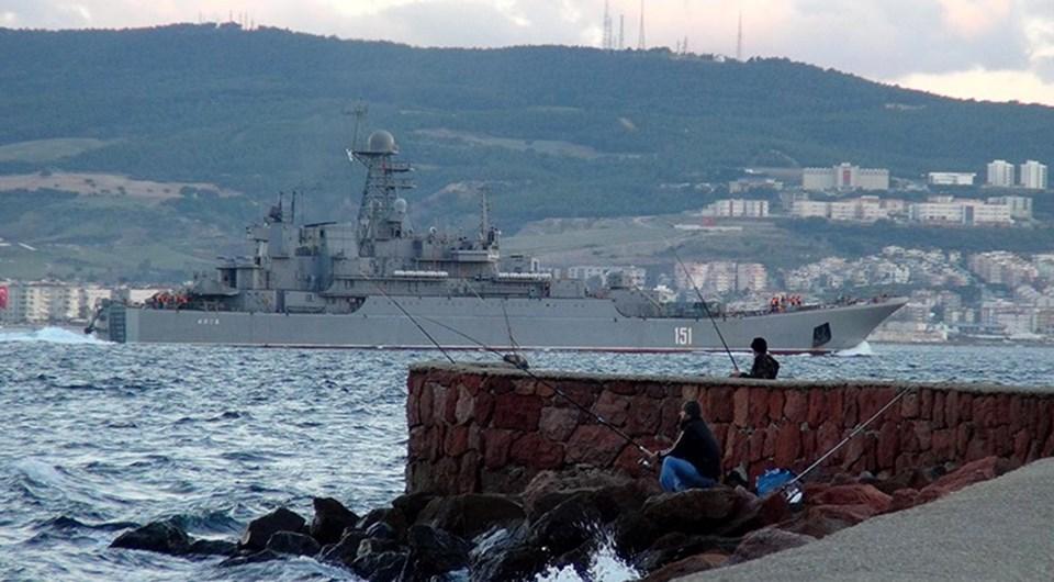 Rus savaş gemisinin, Akdeniz'e ineceği öğrenildi