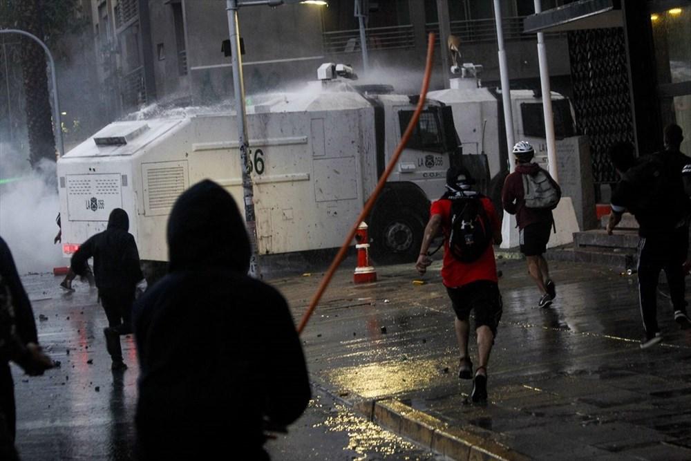 Şili'deki protestoların yıldönümü yaklaşırken sokaklarda tansiyon artıyor - 2